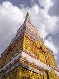 TEMPLO na cidade em Nakhon Phanom imagem de stock