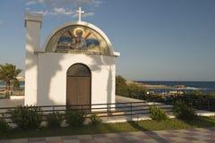 Templo na costa mediterrânea Imagem de Stock Royalty Free