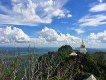 Templo na montanha Foto de Stock Royalty Free