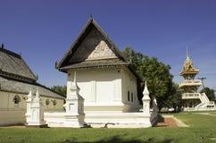 Templo na montanha de Khao Takeab em Tailândia Fotos de Stock Royalty Free