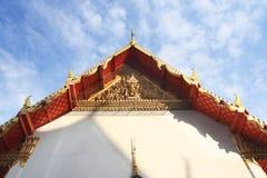 Templo na montanha de Khao Takeab em Tailândia fotografia de stock