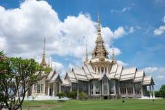 Templo na montanha de Khao Takeab em Tailândia Fotos de Stock