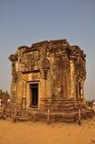 Templo na parte superior de Phnom Bakheng, Angkor Imagem de Stock