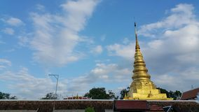 Templo na província de Nan Fotografia de Stock