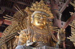 Templo Nara Japan de Todai-ji foto de stock