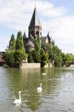 Templo Neuf (Metz - France) Foto de Stock