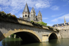 Templo Neuf (Metz - France) Imagens de Stock Royalty Free