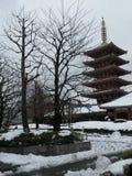 Templo Nevado Imágenes de archivo libres de regalías