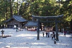 Templo Nikko Japón de Budist Fotografía de archivo