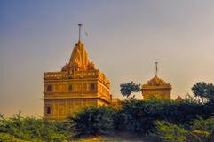 Templo no deserto de Thar Fotografia de Stock