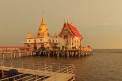 Templo no mar Fotografia de Stock