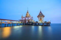 Templo no mar Foto de Stock