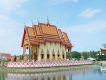 Templo no samui imagem de stock