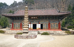 Templo norcoreano Imagenes de archivo