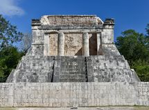 Templo norte da grande corte da bola Imagem de Stock