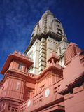 Templo novo de Vishwanath foto de stock