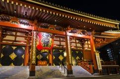Templo o Senso-Ji de Tokio Asakusa Kanno Imagen de archivo libre de regalías