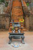 Templo offerings Foto de Stock Royalty Free