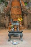 Templo ofrendas Foto de archivo libre de regalías
