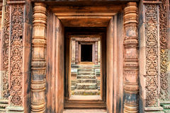 Templo olvidado fotografía de archivo libre de regalías
