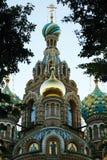 Templo ortodoxo Imágenes de archivo libres de regalías
