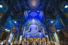 Templo ou Wat Rong Sua Ten de Rong Suea dez fotos de stock royalty free