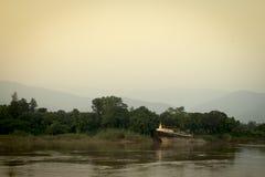 Templo público de la pagoda en Laos Imagen de archivo libre de regalías