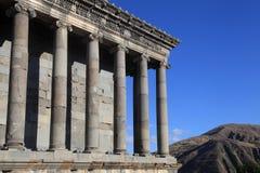 Templo pagão antigo de Garni, Armênia Imagem de Stock Royalty Free