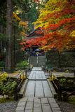 Templo para dar boas-vindas ao outono Foto de Stock