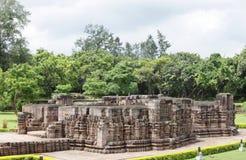 Templo a partir II del pórtico del nivel, templo de Mayadevi de Sun Fotografía de archivo