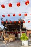 Templo Penang Malasia de la serpiente Imágenes de archivo libres de regalías