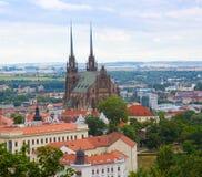 Templo Peter sagrado y Pavel en Brno fotografía de archivo libre de regalías