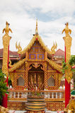 Templo Phayao, Tailândia Imagem de Stock