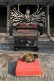 Templo Pingyao Xian China de Shuanglin Imagen de archivo