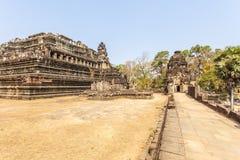 Templo por la mañana, Angkor Thom, Siem Reap, Camboya de Phuon de los vagos Fotos de archivo libres de regalías
