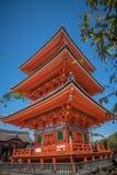 Templo próximo de Kiyomizu-dera del templo de Taisan-ji Imagen de archivo