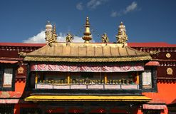 Templo principal em Lhasa Fotos de Stock