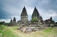 Templo Ramayana de Prambanan, Jogjakarta imagens de stock royalty free