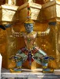 Templo real - Banguecoque imagem de stock