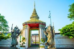 Templo religioso em Banguecoque Imagens de Stock