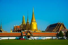 Templo religioso em Banguecoque Fotografia de Stock Royalty Free