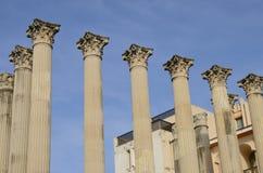 Templo romano Fotografía de archivo libre de regalías
