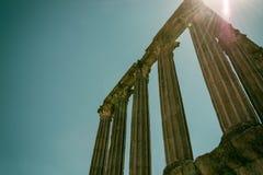 Templo romano imagenes de archivo