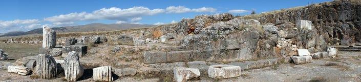 Templo romano Foto de archivo libre de regalías