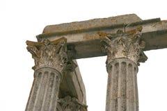 Templo romano Fotos de archivo libres de regalías