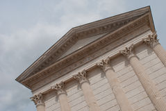Templo romano Imagens de Stock Royalty Free