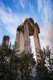 Templo romano Imágenes de archivo libres de regalías