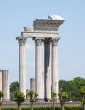 Templo romano Fotografía de archivo