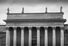 Templo romano Fotografia de Stock