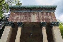 Templo romano antiguo Imágenes de archivo libres de regalías
